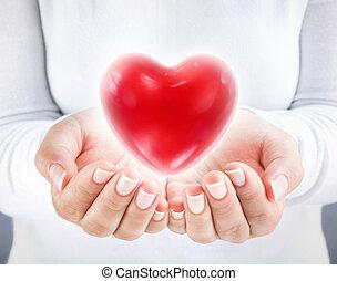 corazón, donar