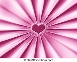 corazón, explosión