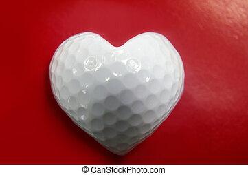 corazón, golf