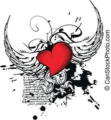 corazón, heraldic9