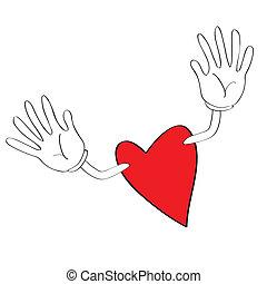 corazón, iconos
