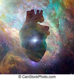 corazón, interestelar