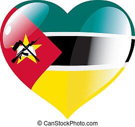 corazón, mozambique