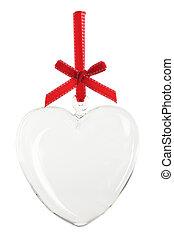 corazón, ornamento, vacío