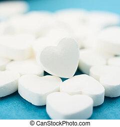 corazón, píldoras