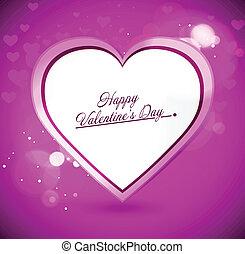 corazón, resumen, valentines, vector, plano de fondo, día