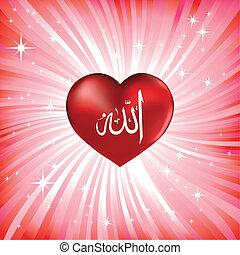 corazón, símbolo, amor