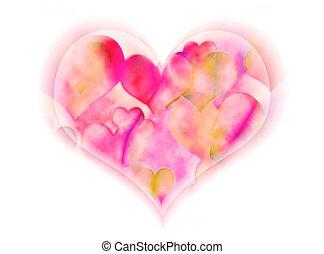 corazón, suave