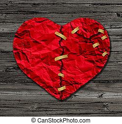 corazón, terapia