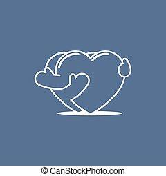 corazones, 01, se abrazar
