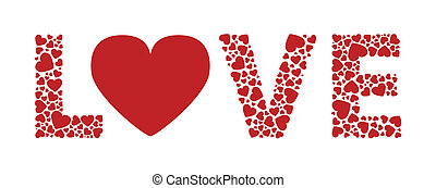 corazones del amor