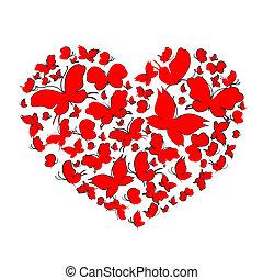 corazones, diseño