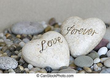 corazones, dos