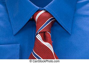 corbata, camisa