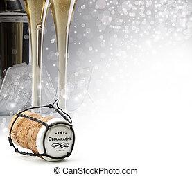 corcho del champán