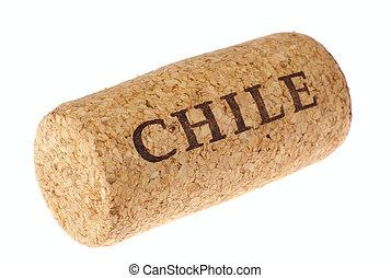 corcho, vino, chileno