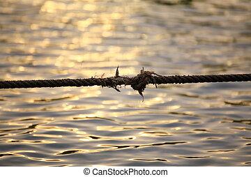 corda, água