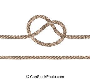 corda, atado