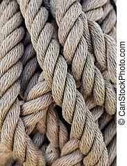 corda, corde, ship\'s, spesso