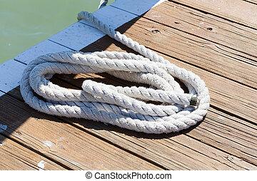 corda, embarcadouro