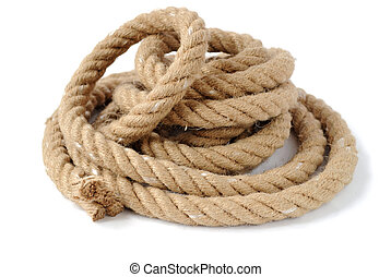 corda, grossas, forte