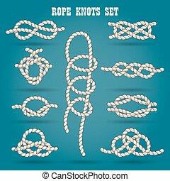 corda, nodi, set