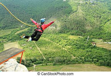 corda saltando