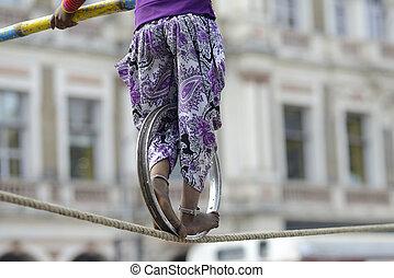 corde, équilibrage
