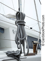 corde, accélérez bateau