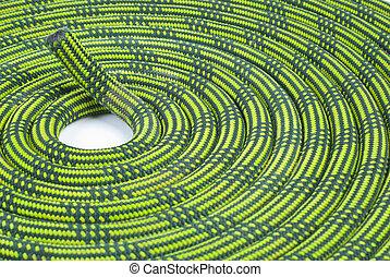 corde, escalade, spirale