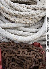 corde, et, chaîne