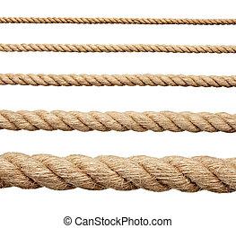 corde, ficelle