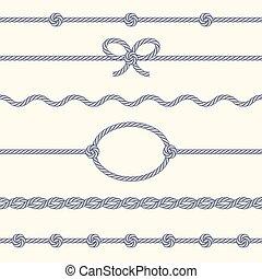 corde, frontières, ensemble