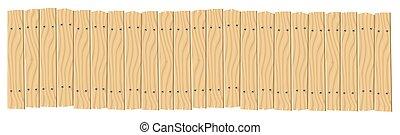 corde, pendre, bois, panneau signe, planches