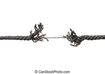 corde, rupture