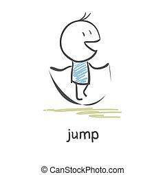 corde, sauter