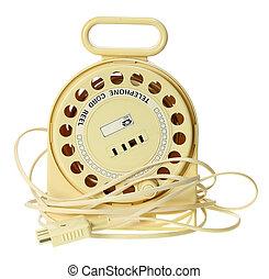 corde, téléphone, escamotable