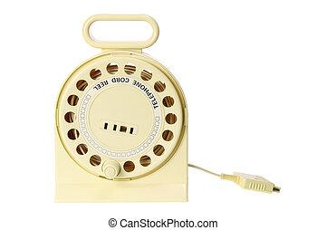 corde, téléphone, ree