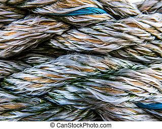 corde, texture, nautique