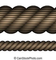 corde, vecteur, seamless