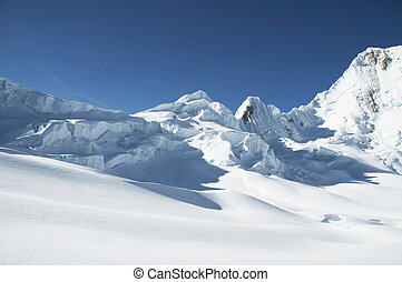 Cordilleras mountain - Snowcowered high cordillera mountain