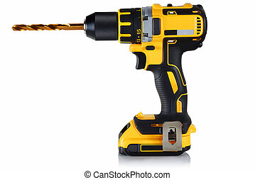 cordless drill, screwdriver with drill