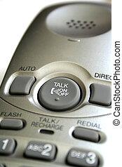 Cordless Phone Close-up