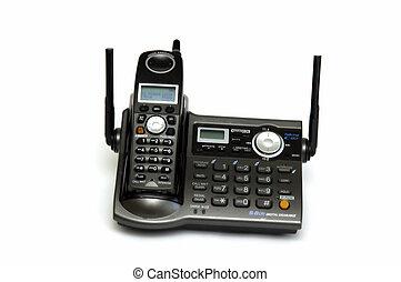 Cordless Phone - Cordless telephone isolated on white