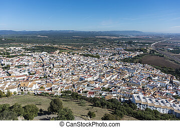 Cordoba, almodovar, Andalusia, Rio, del, Espanha, castelo...