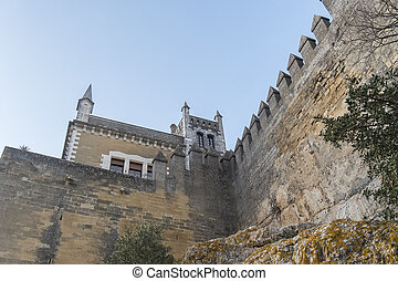 Cordoba,  almodovar,  Rio,  del, Espanha, castelo