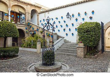 Cordoba Andalusian patio
