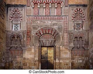 cordoba, mezquita, tür
