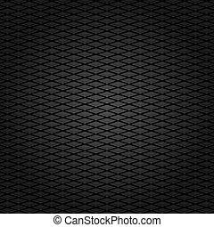Corduroy background, dark gray grid fabric texture