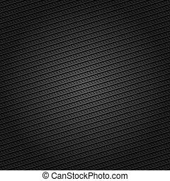 Corduroy black background, dotted lines. Vector design